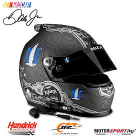 Dale Earnhardt Jr. #88 Nationwide Skull Racing Helmet
