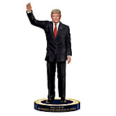 Donald Trump, 45th President Of The United States Figurine