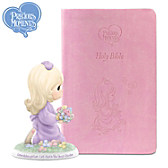 Granddaughter, Let Faith Be Your Guide Bible & Figurine Set
