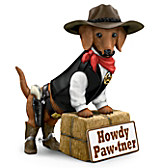 Howdy Paw-tner Sculpture