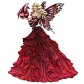 Ruby Radiance Figurine