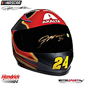 Jeff Gordon Autographed Replica Axalta Racing Helmet