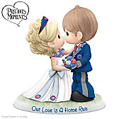 Precious Moments Our Love Is a Home Run Cubs Figurine