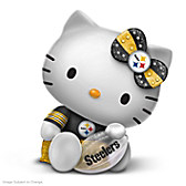 Hello Team Steelers Featuring Hello Kitty Figurine