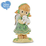 """Precious Moments """"May The Love That You Show Return To You"""" Irish Figurine"""