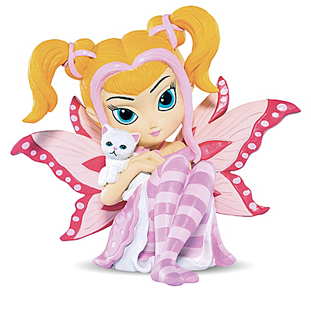Jasmine Becket-Griffith Breast Cancer Awareness Patience Figurine