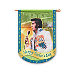 Elvis Presley Flag - Happy Father's Day