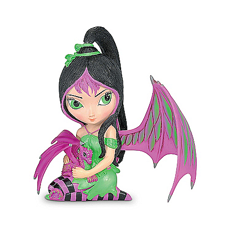 Ivy: Fairy And Dragon Figurine