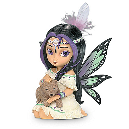 Wildwood, The Spirit Of Power Jasmine Becket-Griffith Fairy Figurine
