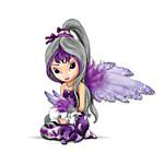 Jasmine Becket-Griffith Fairy And Unicorn Figurine - Midnight Dream