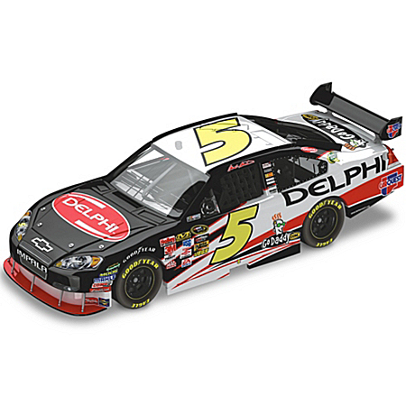 NASCAR Collectibles Mark Martin No. 5 Delphi 2010 NASCAR Sprint Cup Diecast Car