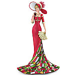 The COCA-COLA Timelessly Refreshing Elegant Woman Figurine