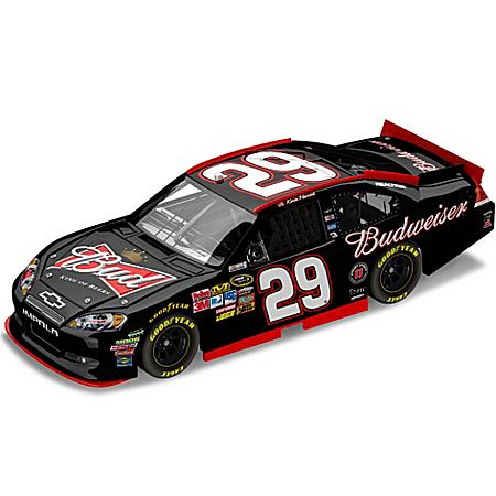 Kevin Harvick No29 Budweiser 2011 NASCAR Sprint Cup Series Diecast Car