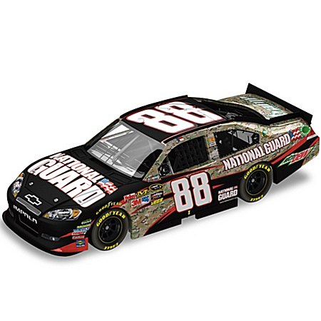 Dale JrNo88 National Guard Heritage/AMP Energy 2011 Sprint Cup Diecast Car