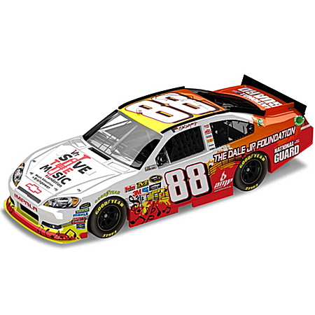 Dale Earnhardt Collectibles VH1 Save The Music Foundation: Dale Earnhardt, Jr. No. 88 2011 Sprint Cup Diecast Car
