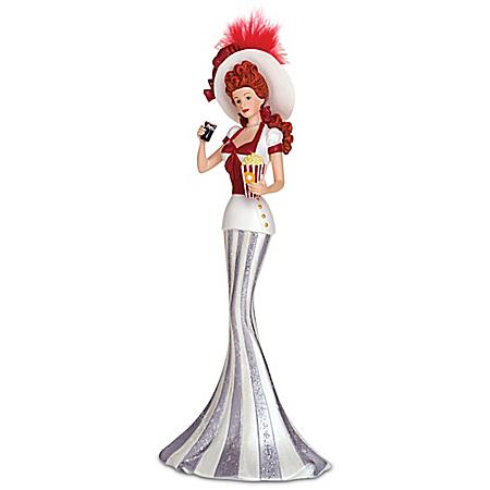 Coney Island Style COCA-COLA Vintage Lady Figurine