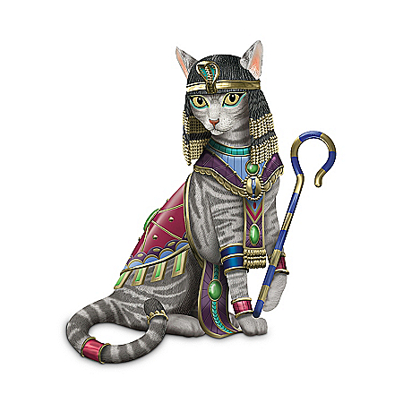 Cleo-CAT-tra Cat Lovers Figurine