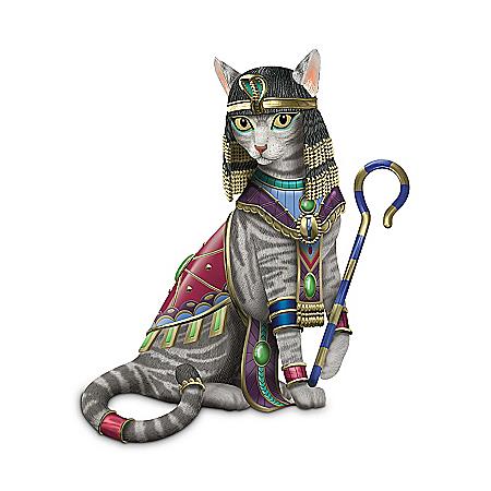Cleo-CAT-tra Cat Lovers Figurine