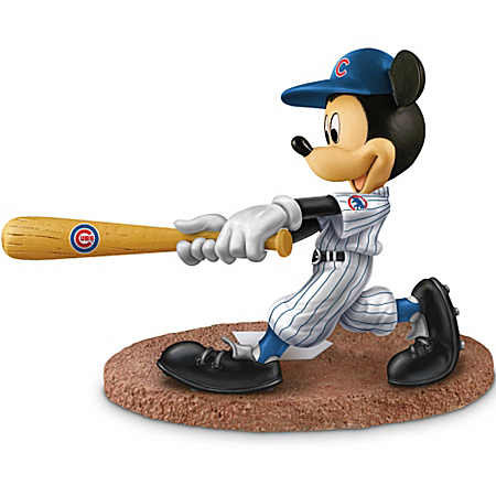 MLB Chicago Cubs Home Run Hero Disney Baseball Figurine
