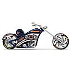 NFL Chicago Bears Cruiser Motorcycle Figurine
