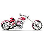 MLB Philadelphia Phillies Motorcycle Figurine - Home Run Racer