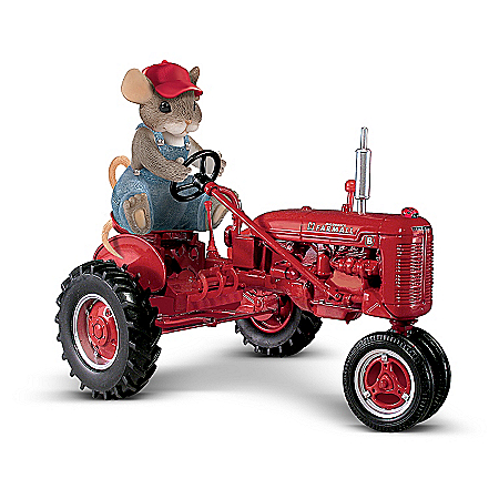 Farmall Charming Tails Mouse Figurine: You're Sow Dear To Me