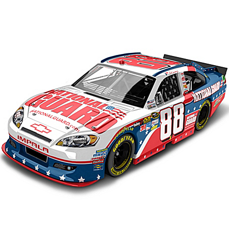 Dale Earnhardt Collectibles NASCAR Dale Earnhardt Jr. No. 88 National Guard NASCAR UNITES Diecast Car