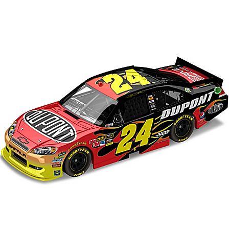 NASCAR Collectibles NASCAR Jeff Gordon No. 24 Dupont 2012 Diecast Car