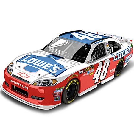 NASCAR Collectibles NASCAR Jimmie Johnson No. 48 Lowe's NASCAR UNITES 2012 Diecast Car