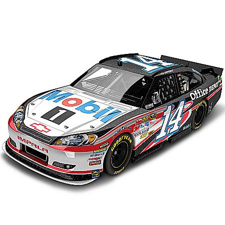NASCAR Tony Stewart No. 14 Mobil 1 2012 Galaxy Finish Diecast Car