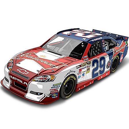 NASCAR Collectibles NASCAR Kevin Harvick No. 29 Budweiser NASCAR UNITES Diecast Car