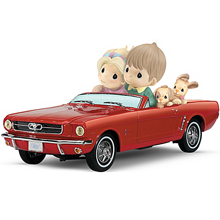 Precious Moments 1964 1/2 Ford Mustang Figurine: Just Me And You With The Horizon In View