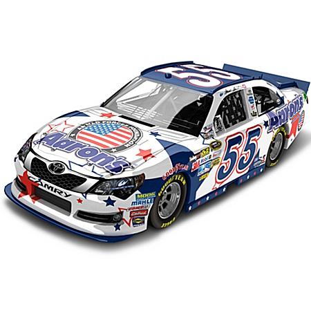 NASCAR Collectibles NASCAR Mark Martin No. 55 Aaron's NASCAR UNITES 2012 Diecast Car