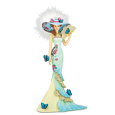 Lena Liu Hand-Painted Charming Intrigue Figurine