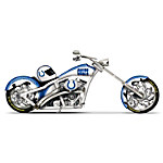 NFL Indianapolis Colts Motorcycle Figurine - Colts Cruiser