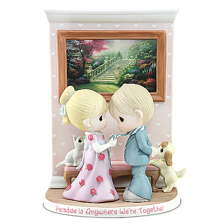 Paradise Is Anywhere We're Together Precious Moments Figurine