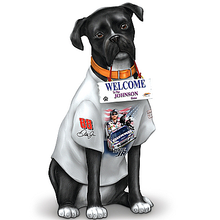 Killer, The Dale Jr. Personalized Welcome Outdoor Dog Sculpture