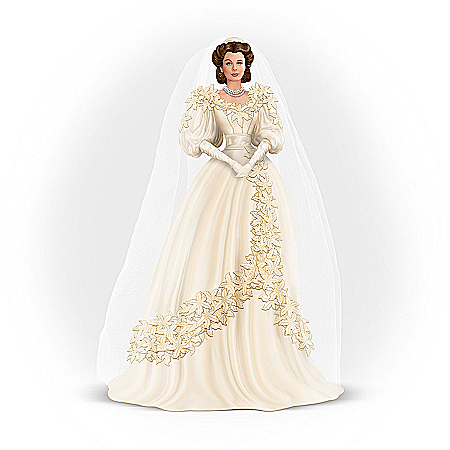 Gone With The Wind Figurine: Scarlett O'Hara, Wedding Belle