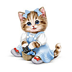 Kitten Figurine - There's No Place Like Home