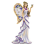 Lena Liu Angel Of Captivating Grace Hand-Painted Figurine