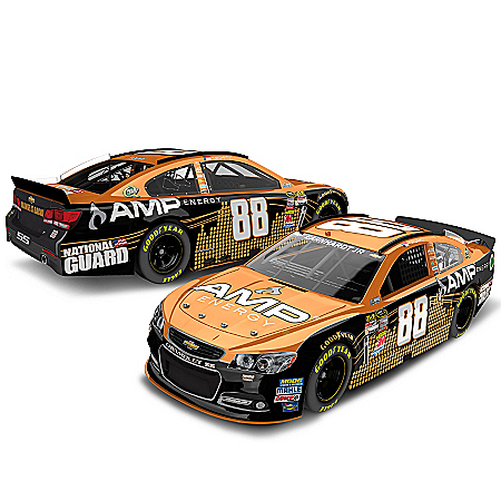 Dale Earnhardt Collectibles NASCAR Diecast Car: Dale Earnhardt Jr. No. 88 Amp Energy Active Orange
