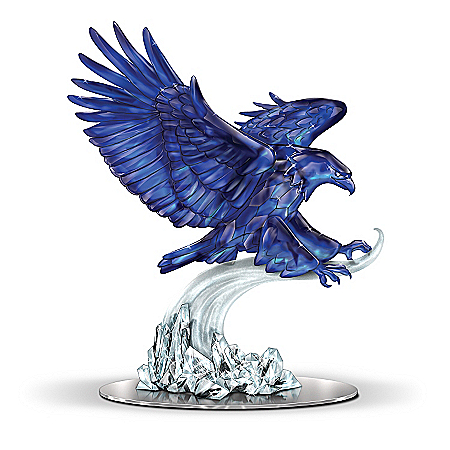 Eagle Figurine: Spirit Of Benitoite