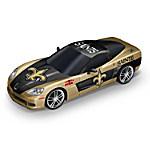 Car Sculpture - Super Bowl XLIV Corvette Sculpture