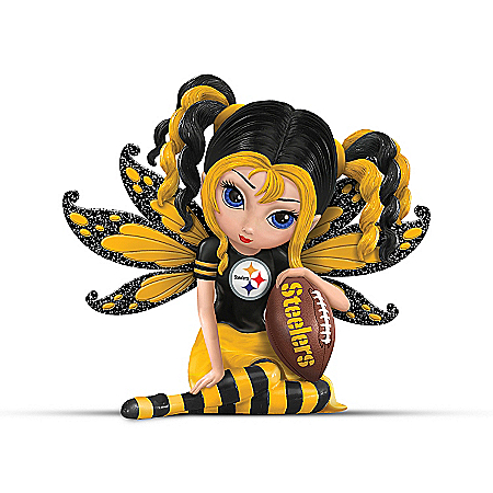 Figurine: A Little Bit Of Steelers Magic
