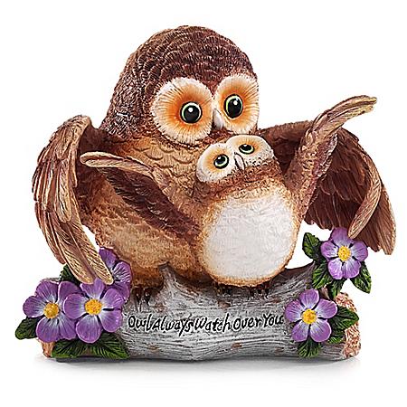 Owl Figurine: Owl Always Watch Over You