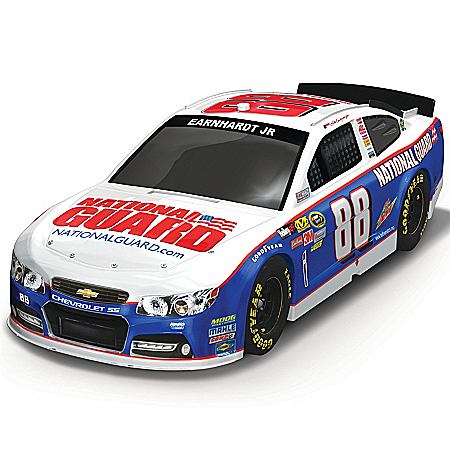 Dale Earnhardt Collectibles NASCAR Sculpted Car: Dale Earnhardt, Jr. 2013 National Guard #88 SS