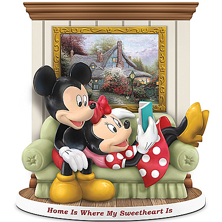 Figurine: Disney Home Is Where My Sweetheart Is Figurine