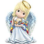 Figurine - Precious Moments Angel Of Caring Figurine