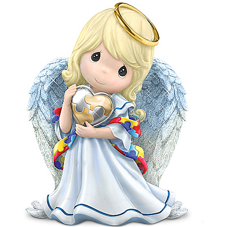 Figurine: Precious Moments Angel Of Caring Figurine