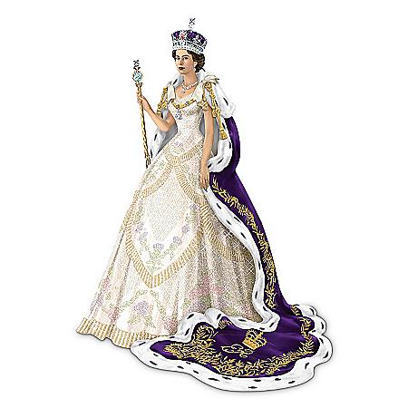 Figurine: The Coronation Of Queen Elizabeth II Figurine